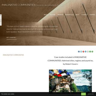 Book Site - IMAGINATIVE COMMUNITIES