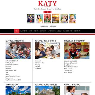 Katy Magazine - Katy Texas