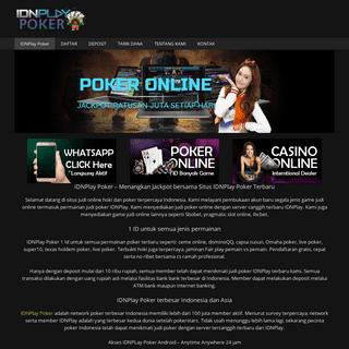 IDNPlay Poker – Kemenangan Bersama Situs Judi Online Terpercaya