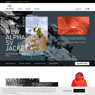 New Alpha SV Jacket - Arc`teryx