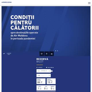 Air Moldova -- Bilete de avion din Chisinau online
