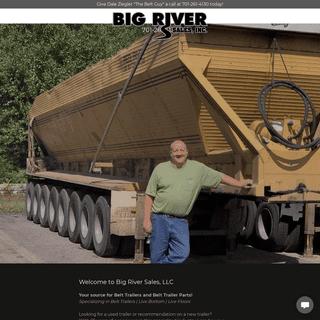 Big River Sales, LLC - Belt Trailer and Belt Trailer Parts