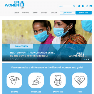 What we`re up to - UN Women USA