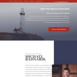 Michael Badnarik - Constitution - Author - Michael Badnarik
