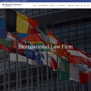 Kancelaria prawna - Prawo gospodarcze, Prawo handlowe.