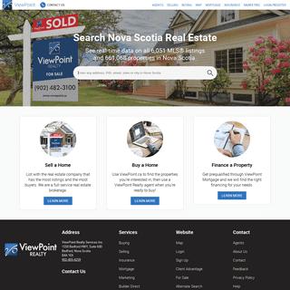 Nova Scotia Real Estate and MLS Listings - ViewPoint.ca