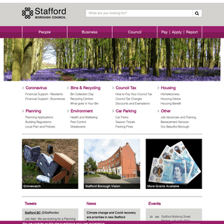 People - Stafford Borough Council