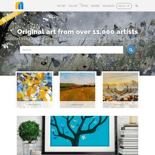 Buy original art & sell art commission free