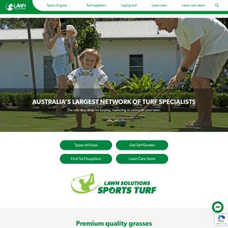 Lawn Solutions Australia - Premium Turf & Lawn Care