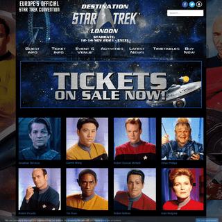 Home - Destination Star Trek