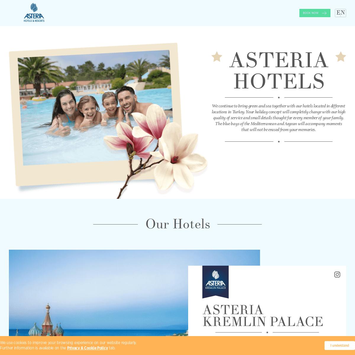 ASTERIA HOTELS
