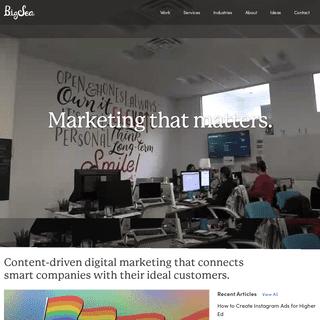 Big Sea - Digital Marketing Agency - St. Petersburg, FL