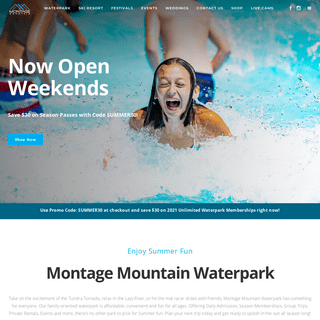 Montage Mountain - Waterpark - Wave Pool - Lazy River - Pennsylvania