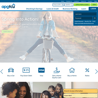 Home Page - APG Federal Credit Union