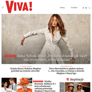 VIVA! Gwiazdy, show-biznes, moda. Kultowe wywiady i sesje zdjęciowe - Viva.pl
