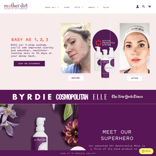 Mother Dirt- Probiotic Skin Care Products for Face, Body & Hair