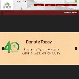 Mosque Foundation - Bridgeview, Illinois -