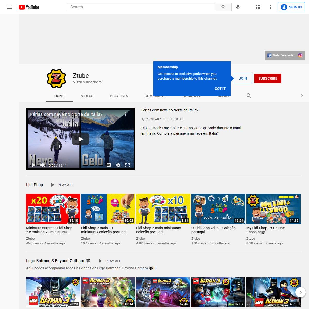 Ztube - YouTube