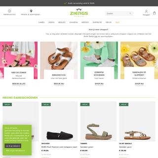 Ziengs de Schoenenwinkel voor het hele gezin! Shop online! - Ziengs.nl