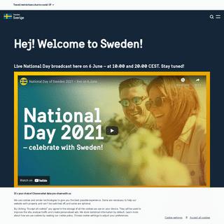 Hej! Welcome to Sweden! - sweden.se