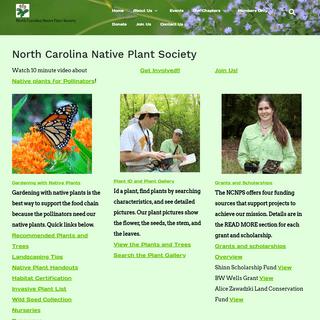 NC NPS – North Carolina Native Plant Society