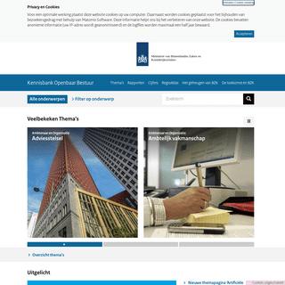 Kennisbank Openbaar Bestuur - Kennisbank Openbaar Bestuur