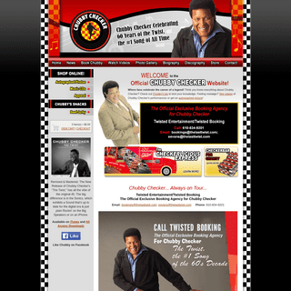 Chubby Checker - The Official Site
