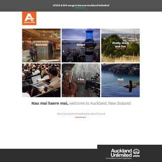 Auckland Unlimited - aucklandnz.com - Home
