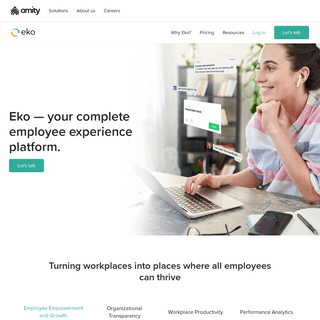 Eko — your complete employee experience platform.
