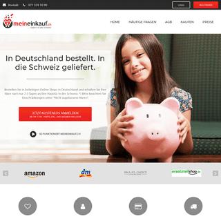 Lieferadresse Deutschland - Amazon Versand in die Schweiz