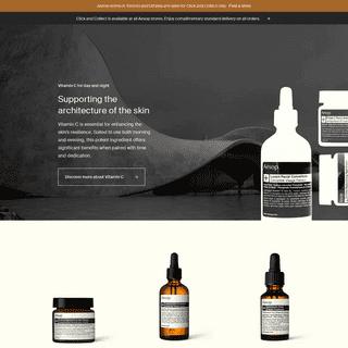 Aesop - Formulations for Skin, Hair & Body - Aesop Canada