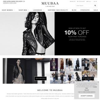 MUUBAA - Luxury Designer Women`s Leather - AW20 Collection