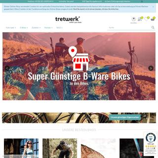 TRETWERK Fahrrad Shop - Günstig online kaufen