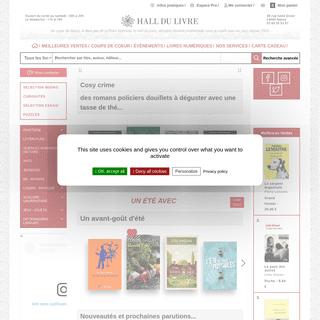 Le Hall du Livre NANCY - Réservation de livres papier et numériques