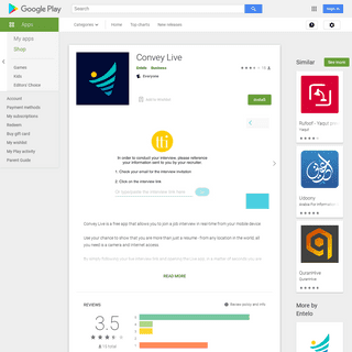 Convey Live - Apps on Google Play