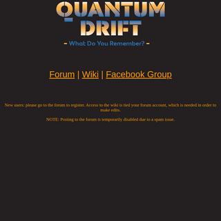 Quantum Drift Beta