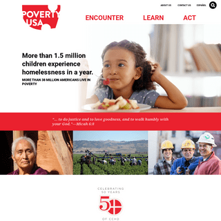 Poverty in The USA - Catholic Campaign for Human Development