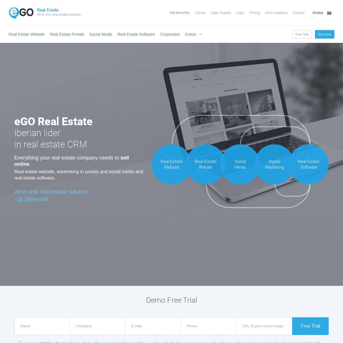 eGO Real Estate - Online Software and Real Estate Websites