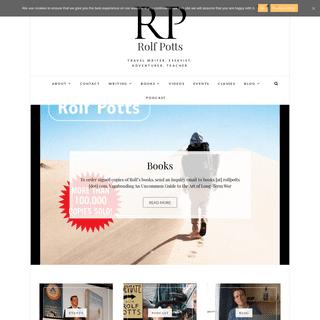 Rolf Potts – Travel Writer, Essayist, Adventurer, Teacher