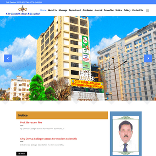 City Dental College & Hospital - Hospital