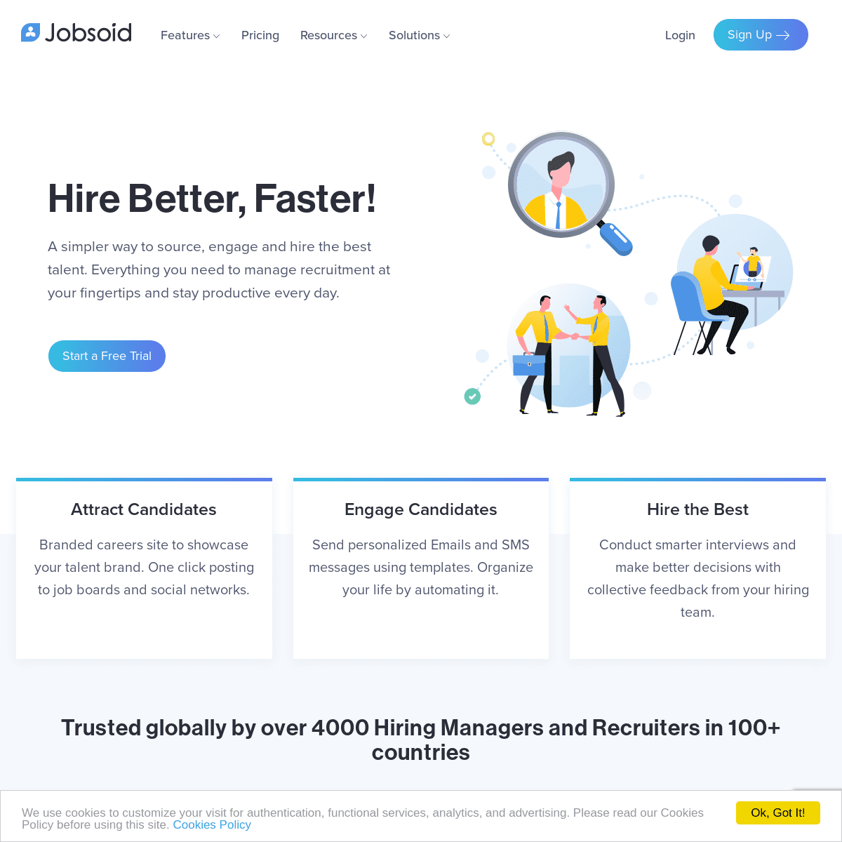 Jobsoid- Recruiting Software for Businesses & Agencies