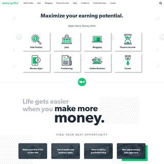 DollarSprout - Maximize your earning potential