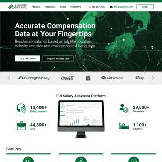 Homepage - ERI Economic Research Institute