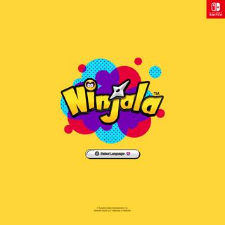 Select Language │ Ninjala -Official Site-
