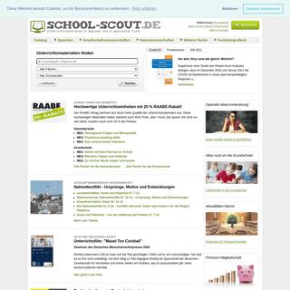 School-Scout - Unterichtsmaterial - Arbeitsblätter zum Download