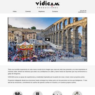 Vidicam - Servicios Audiovisuales
