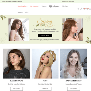 LilyHair Premium Quality Wigs and Hair Pieces For Women