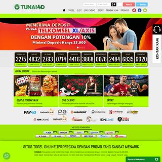 Tunai4d Situs Togel Online Terpercaya & Slot Online Deposit pulsa