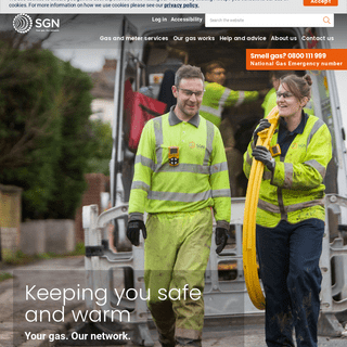 Homepage - SGN Your gas. Our network.