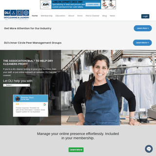 Homepage - Dry Cleaning and Laundry Institute